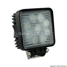 utility work lights for commercial construction vehicles