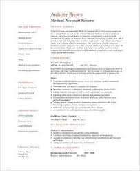 Examples Of Medical Assistant Resumes Medical Assistant Objective Sample Medical Assistant Resume 3