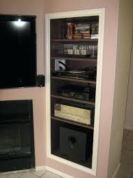 Audio Cabinets With Glass Doors Audio Cabinet Zivile Info