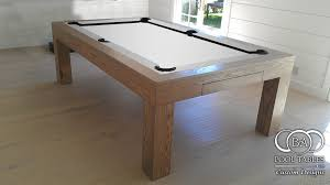 modern billiard table white pool table felt