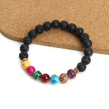 fashion stone bracelet images Natural black lava stone bracelet beez fashion and care jpg