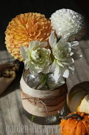 Mason Jar Arrangements Corn Husk Wrapped Mason Jar Vase