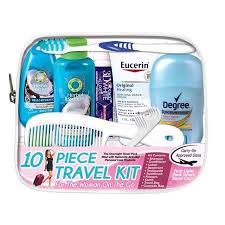 Convenience kits international quot woman on the go quot deluxe 10 pc
