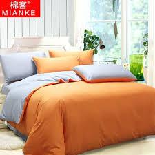 burnt orange and grey comforter set orange and grey duvet cover