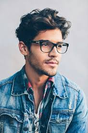 how to add height to hair how to match men s hair cut with glasses lenskart blog