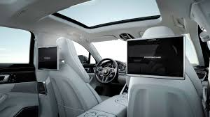 black porsche panamera interior 2017 porsche panamera executive rear seat entertainment interior