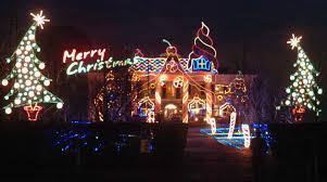 christmas light show ct greenwich billionaire lights up the night stamfordadvocate