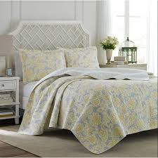 Quilted Bed Valance Laura Ashley Home Joy Quilt Set By Laura Ashley Home U0026 Reviews