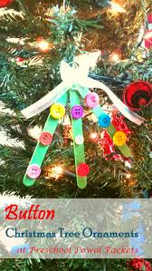 button christmas tree ornaments preschool powol packets