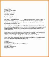 7 graduate recommendation letter sample expense report