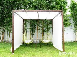 Diy Backyard Shade Diy Outdoor Privacy Screen And Shade Tutorial Bob Vila