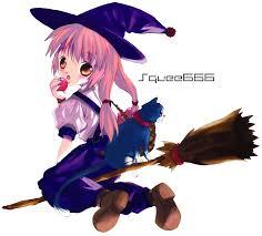 anime halloween witch cartoon halloween sorceress images