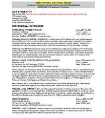 Sample Federal Resume by 100 Electronic Resume Ecommerce Resume Sample Jennywashere