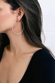 earrings hoops chic silver earrings hoop earrings textured gold hoops