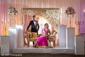 wedding backdrop reception rockleigh nj indian wedding by seth photography maharani