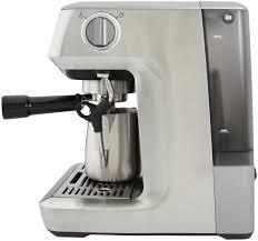 breville infuser espresso machine cappuccino maker black sesame