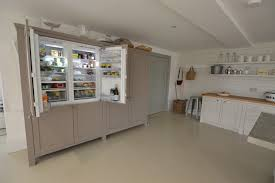 Bespoke Kitchen Cabinets Guernsey Kitchen No 2 Built In Fridge Freezer U2013 Bespoke Kitchens
