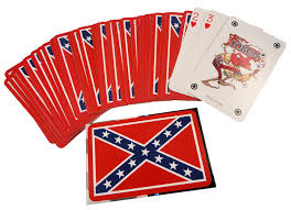 Ruffin Flags Deck Of Confederate Rebel Flag Playing Cards