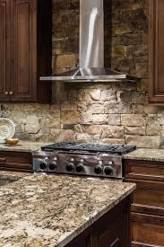Unique Backsplash For Kitchen by Best 25 Rustic Backsplash Ideas On Pinterest Rustic Cabin