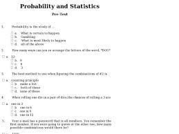 pre worksheets math worksheets for 4th grade probability
