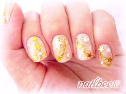 gold nail designs nailbees