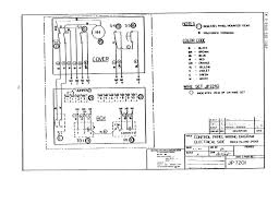 electrical control panel wiring diagram