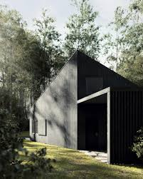 też architekci designs polish country house with black thermowood