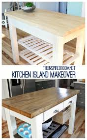 distressed kitchen islands diy kitchen island from new unfinished furniture to antique