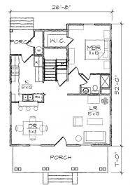 653980 3 bedroom 2 bath bungalow style house plan house plans