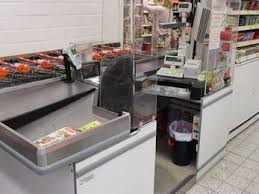 Supermarket Cash Desk Gryff Store Equipments