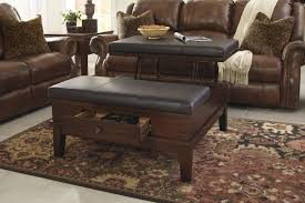 coffee tables appealing storage ottoman coffee table diy addicts