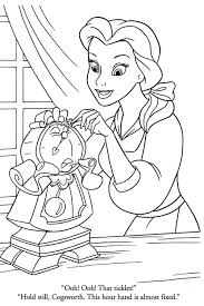 storytelling belle friends coloring pages beauty beast
