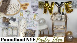 nye party kits poundland diy nye party decorations idea easy and affordable