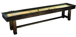 barrington 9 solid wood shuffleboard table imperial international reno rustic 12 shuffleboard table reviews