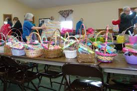 easter baskets for sale photo fifth creek church prepares easter baskets news