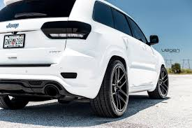 jeep new white white jeep srt8 velgen wheels vmb5 jeep garage jeep forum
