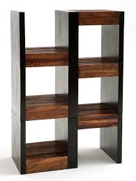 rustic modern reclaimed wood shelving unit urban rustic
