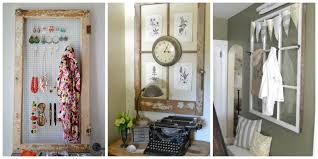 Wall Picture Ideas by Old Window Frames Easy Craft Ideas
