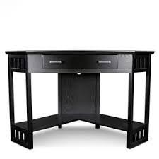 Corner Laptop Desk Hardwood Corner Laptop Desk Free Shipping Today Overstock
