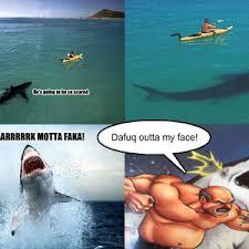 Shark Attack Meme - shark attack fail by thunderican meme center