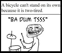 Tired Meme Face - bicycles can t stand on their own the meta picture