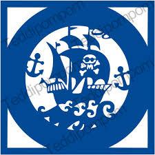 pirate ship svg template boys svg pirate stencil template
