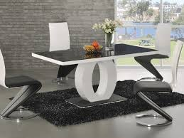 Dining Table With 4 Chairs Price Dining Room 54 Modern Dining Sets Black And White Design Nero