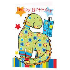 dinosaur birthday dinosaur birthday card greeting cards