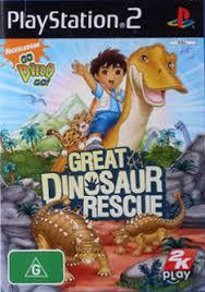 diego dinosaur rescue box shot playstation 2