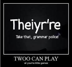 Grammar Meme - should we allow poor grammar to shape the evolution of our