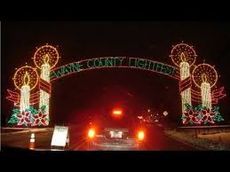 drive by christmas lights christmas lights drive thru display youtube