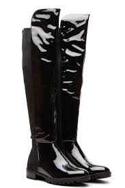 s boots 50 black patent knee high zippered boots cicihot boots catalog