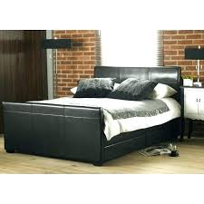 Faux Bed Frame Leather Bed Frames Grey Platform Leather Bed White Leather Bed