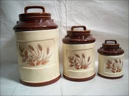 100 pottery canisters kitchen french cafe ceramic canisters